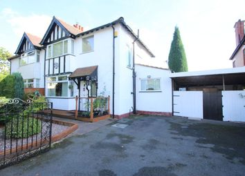 Thumbnail 3 bed semi-detached house for sale in Town Lane, Denton, Manchester