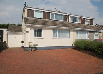 Thumbnail 4 bed semi-detached house for sale in St. Edward Gardens, Plymouth