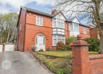 Thumbnail 3 bed semi-detached house for sale in Chorley Old Road, Heaton, Bolton, Lancashire