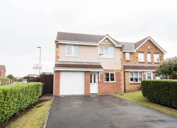 Thumbnail 3 bed detached house for sale in Onyx Close, Hartlepool