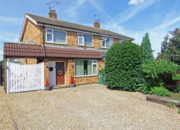 Thumbnail 3 bed semi-detached house for sale in Greensward, East Goscote, Leicester, Leicestershire