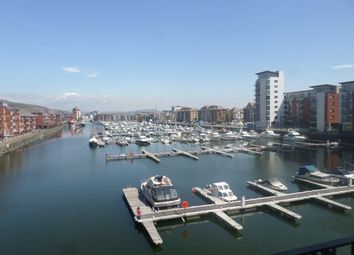 Thumbnail 1 bedroom flat to rent in Arethusa Quay, Maritime Quarter, Swansea.