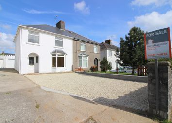 Thumbnail 3 bed semi-detached house for sale in Litchard Cross, Litchard, Bridgend.