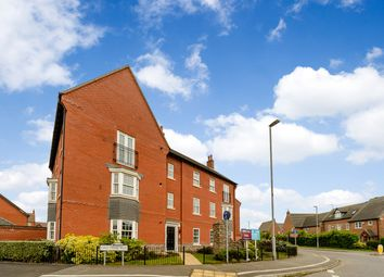 Thumbnail 2 bed flat for sale in Greetham Way, Leicester