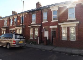 Thumbnail 6 bedroom terraced house for sale in Cardigan Terrace, Heaton, Newcastle Upon Tyne