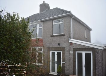 Thumbnail 4 bed semi-detached house to rent in Pentyla Road, Cockett, Swansea