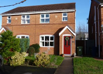 Thumbnail 3 bedroom semi-detached house for sale in Vauban Drive, Stafford
