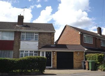 Thumbnail 3 bed semi-detached house for sale in Sunningdale, Luton, Bedfordshire