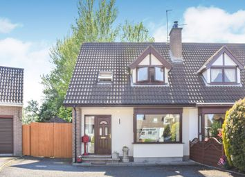 Thumbnail 3 bed semi-detached house for sale in Meadowvale, Saintfield
