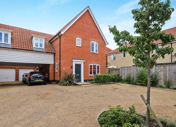 Thumbnail 3 bedroom link-detached house for sale in Castle Brooks, Framlingham, Woodbridge