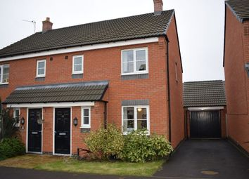 Thumbnail 3 bedroom semi-detached house for sale in Sandpit Drive, Birstall, Leicester