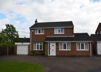 Thumbnail 4 bedroom detached house for sale in Hillside, Findern, Derby
