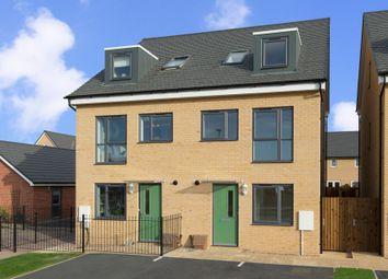 "Thumbnail 4 bedroom semi-detached house for sale in ""Queensville"" at Fen Street, Wavendon, Milton Keynes"