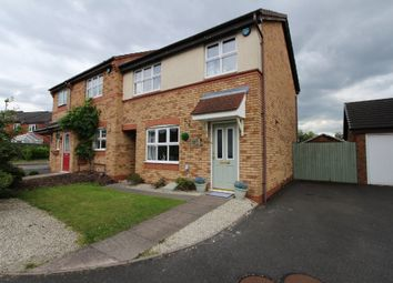 Thumbnail 3 bed semi-detached house for sale in Regal Close, Two Gates, Tamworth