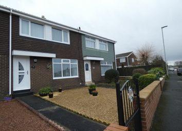 Thumbnail 3 bed terraced house for sale in Highfield Drive, Ashington