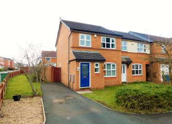 Thumbnail 3 bed end terrace house for sale in Ferry Farm Drive, Meadowcroft Park, Stafford