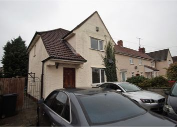 Thumbnail 3 bed semi-detached house for sale in Knighton Road, Southmead
