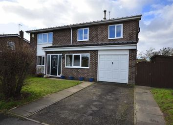 Thumbnail 5 bed detached house for sale in Garth Close, Hambleton, Selby