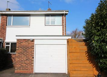 Thumbnail 3 bed end terrace house for sale in Merecote Road, Solihull
