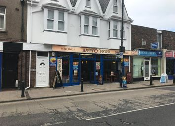 Thumbnail Restaurant/cafe for sale in High Street, Herne Bay