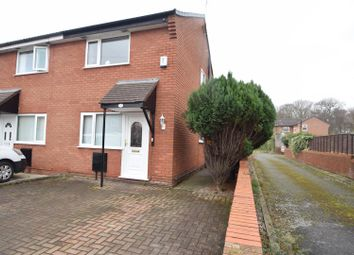 Thumbnail 2 bed semi-detached house to rent in Thornham Close, Upton, Wirral