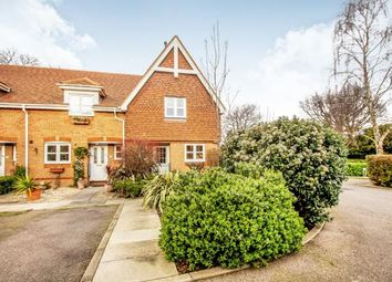 Thumbnail 4 bed end terrace house for sale in Pyrford, Surrey, .