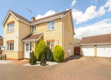 Thumbnail 4 bed detached house for sale in Lidgate Close, Botolph Green, Peterborough