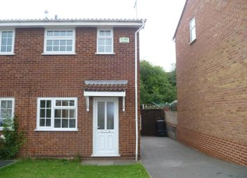 Thumbnail 2 bed semi-detached house to rent in Kingfisher Avenue, Woodville, Swadlincote