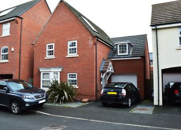 Thumbnail 4 bed detached house for sale in Danbury Place, Leicester