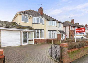 Thumbnail 3 bed semi-detached house for sale in Poplar Avenue, Wednesfield, Wolverhampton