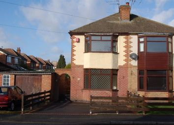 Thumbnail 2 bed semi-detached house to rent in Walton Road, Chaddesden, Derby