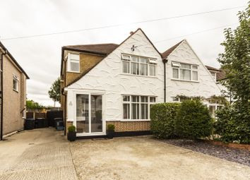 Thumbnail 3 bed semi-detached house for sale in Fairford Avenue, Croydon