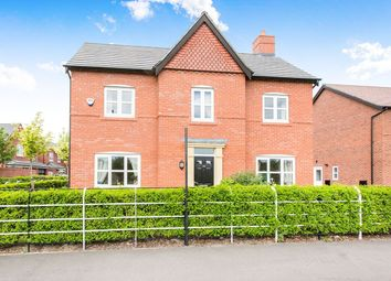 Thumbnail 4 bed detached house for sale in Winnington Avenue, Northwich
