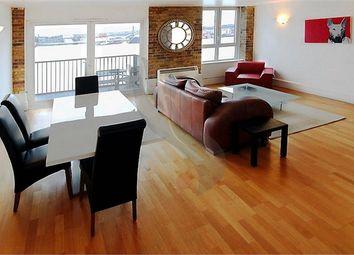 Thumbnail 2 bedroom flat to rent in Cubitt Wharf, Storers Quay, London