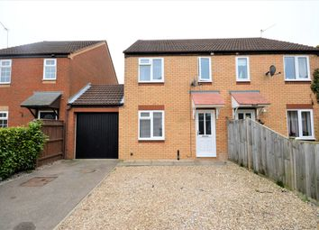 Thumbnail 3 bed semi-detached house for sale in Steeple Chase, Drayton, Norwich