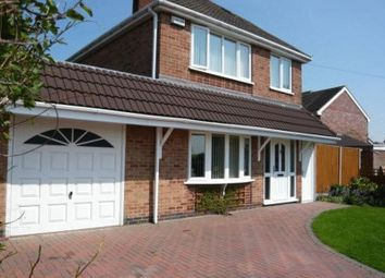 Thumbnail 3 bed detached house for sale in Fenton Crescent, Measham, Swadlincote
