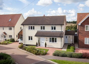 Thumbnail 4 bed detached house for sale in Croft Close, Meeting Green, Wickhambrook, Newmarket