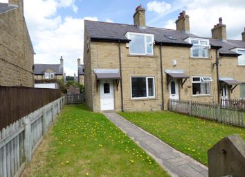 Thumbnail 3 bed end terrace house to rent in Quarmby Road, Huddersfield
