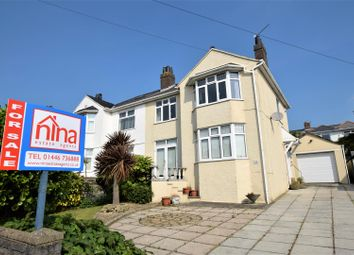 Thumbnail 3 bed semi-detached house for sale in Porth-Y-Castell, Barry