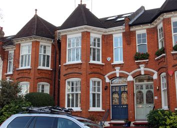 Thumbnail 5 bedroom terraced house for sale in Thirlmere Road, Muswell Hill, London