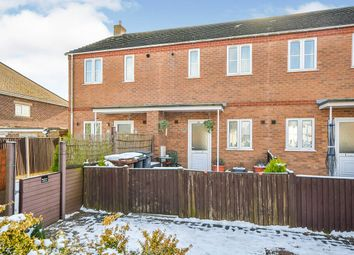 2 bed terraced house for sale in Viking Court, Bracebridge Heath, Lincoln, Lincolnshire LN4