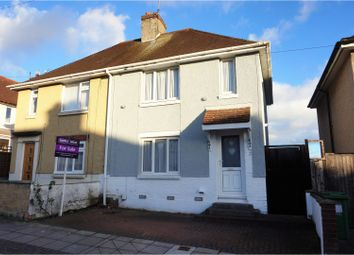 Thumbnail 3 bed semi-detached house for sale in Brighstone Road, Portsmouth