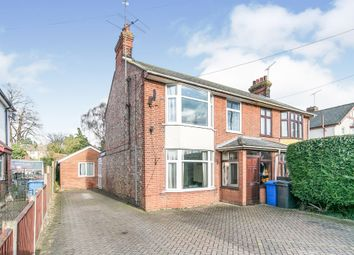 3 bed semi-detached house for sale in Norwich Road, Ipswich IP1
