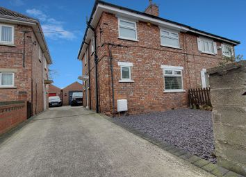 Thumbnail 3 bed semi-detached house to rent in Grange Road, Moorends