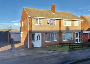 Thumbnail 3 bed semi-detached house for sale in Brentingby Close, Melton Mowbray