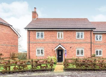 Thumbnail 3 bed semi-detached house for sale in Grayling Lane, Weston, Newbury