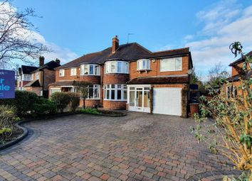 Thumbnail 5 bed semi-detached house for sale in Greswolde Road, Solihull