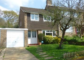 Thumbnail 3 bedroom semi-detached house for sale in Grenville Close, Ringwood