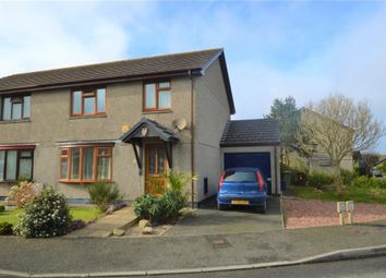 Thumbnail 3 bed semi-detached house for sale in Ash Drive, Hayle, Cornwall