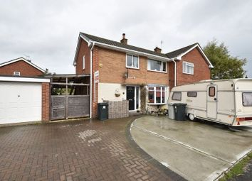 Thumbnail Semi-detached house for sale in Harewood Crescent, Louth